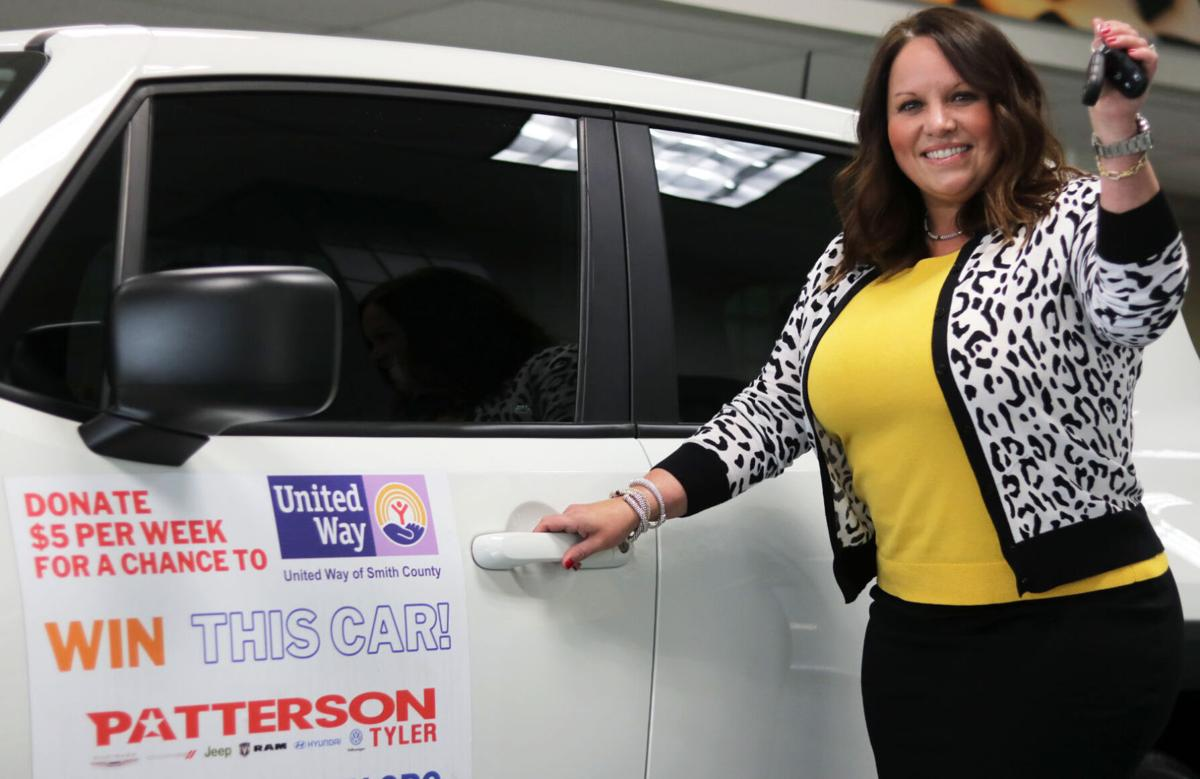 Tyler business operator wins car and decides to pay it forward