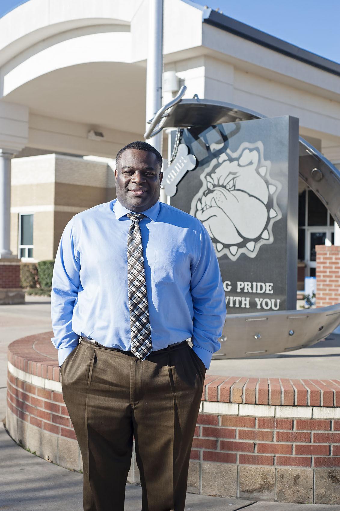 CHISD interim superintendent Lamond Dean