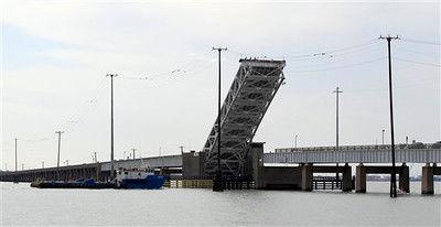Galveston bridge damaged by Hurricane Ike could be historic