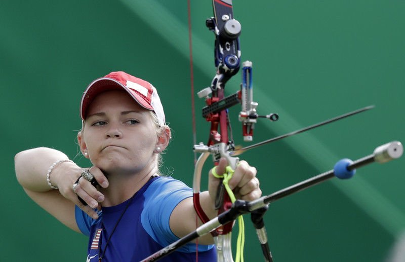 Olympics: Brown makes it to second round