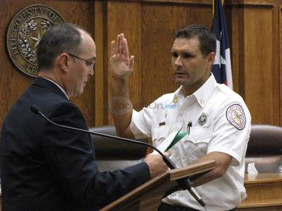 New Smith County fire marshal sworn in