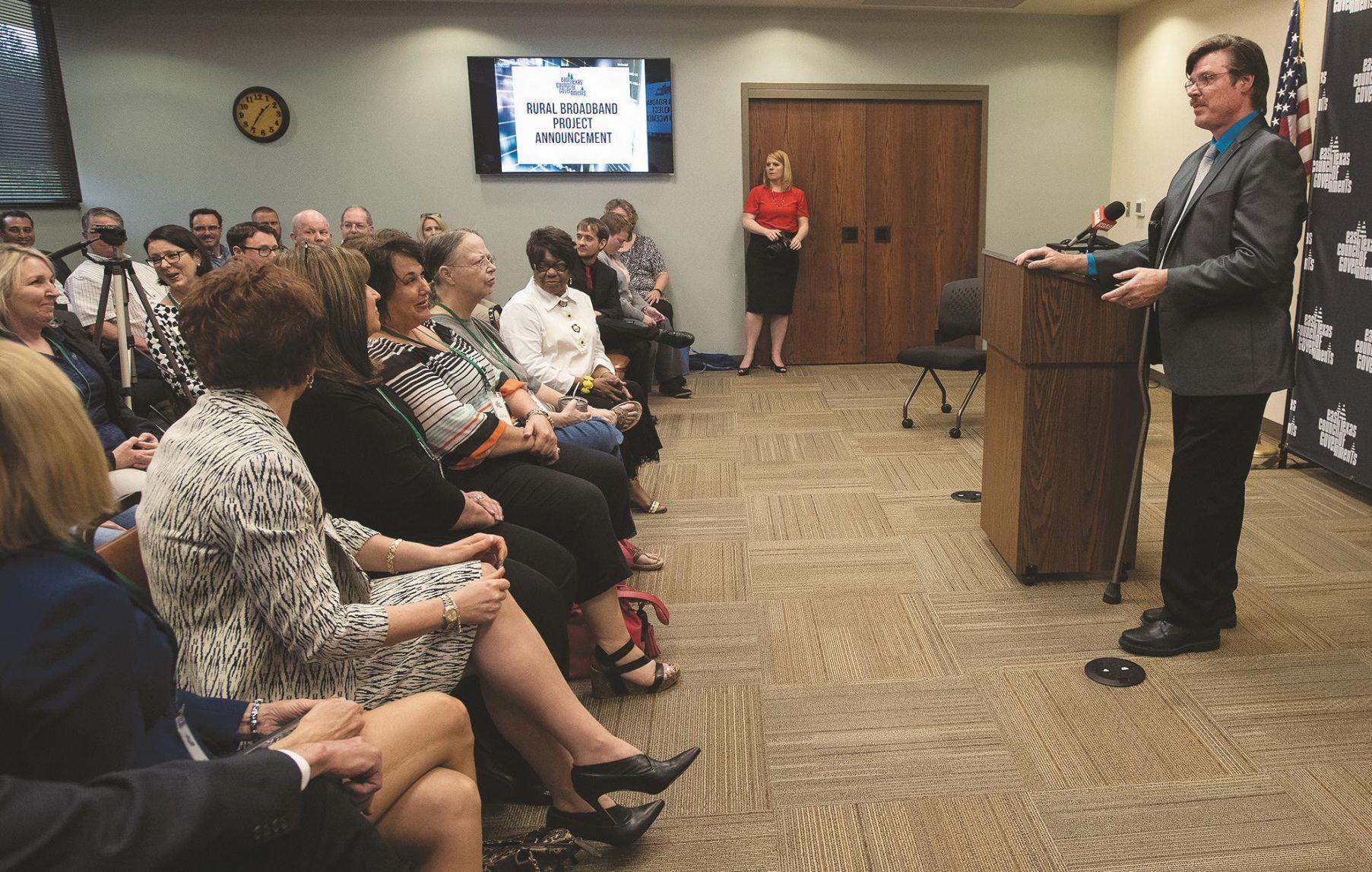 Grant for rural broadband in East Texas took years of effort