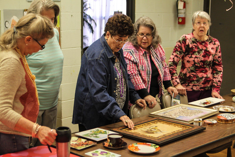 East Texas Porcelain Art Guild members master labor-intensive craft; host show and sale this weekend