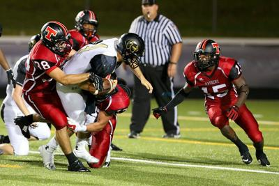 REL linebacker creates turnovers with strips