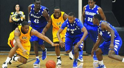 Johnson Scores 28 As TJC Sweeps Kilgore College