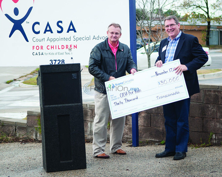 CASA celebrates move with new director, donation
