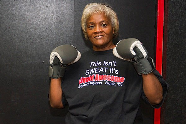 Rusk grandmother takes weight-loss journey