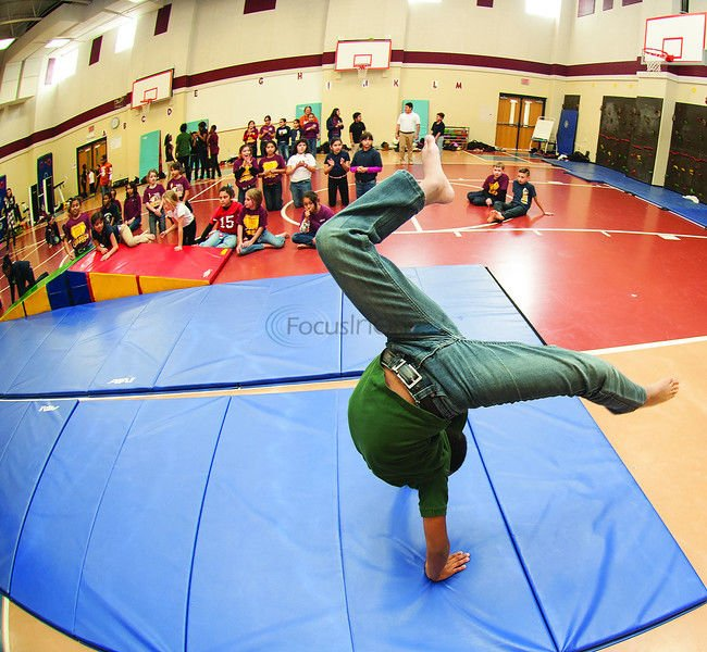 Birdwell tumblers to show off skills at PE showcase Tuesday