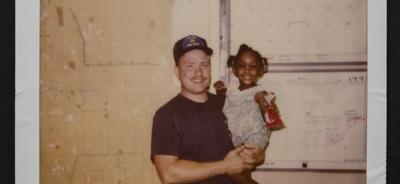 Firefighter reunited with girl he saved 27 years later