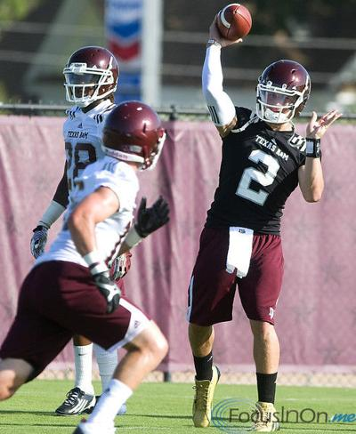 Manziel named Aggies starting QB
