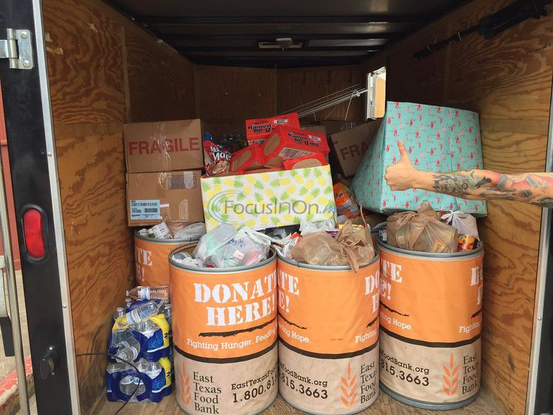 Benefit Concert Brings in over 1 ton of food