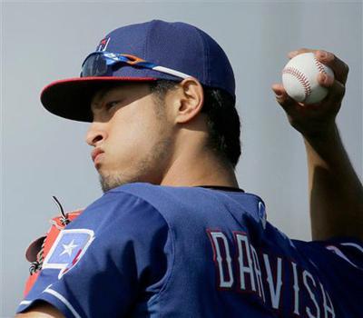 Rangers' Darvish to have season-ending surgery Tuesday