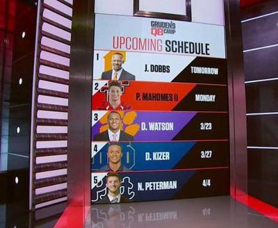 Mahomes to be featured on Gruden QB Camp on ESPN