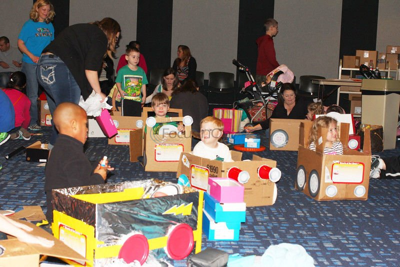 Tyler library hosts drive-in movie event for children