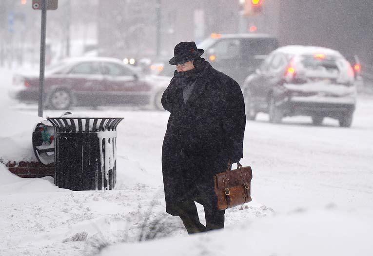 100 million people affected by East Coast's deep freeze