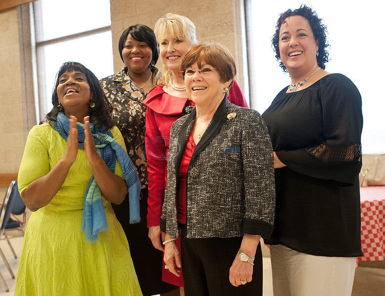 6 honored at women's luncheon