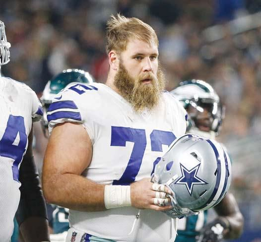 Cowboys center Travis Frederick being treated for rare ...