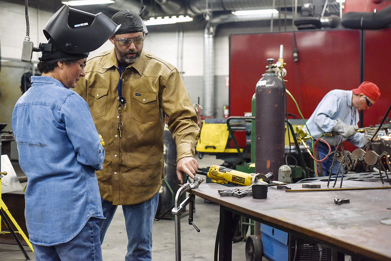 Making memories with fire and steel, TJC sculpture welding opens imaginations