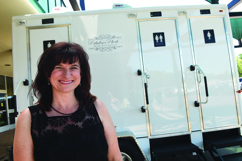 Entrepreneur brings better bathroom experience to outdoor events