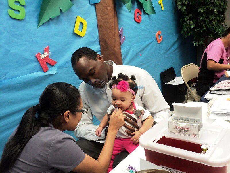 Immunizations, bike helmets provided for Tyler Day Nursery