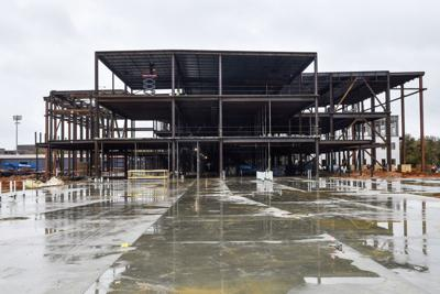 Tyler ISD's new high schools are starting to reach for the sky