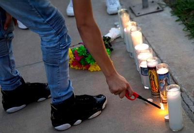 Vigil for Odessa and Midland victims