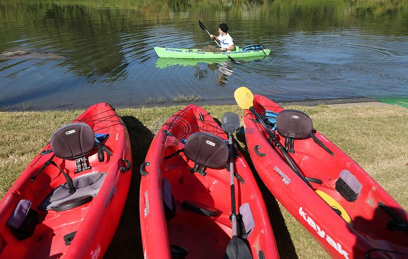 Down On The Bayou: Kayakers discover Bayou St. John