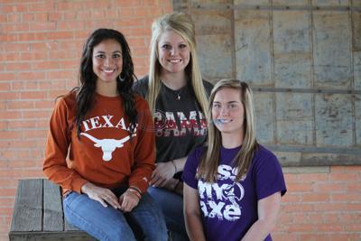 Softball dreams come true for East Texas trio