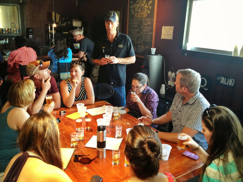 New tours combine biking with small breweries