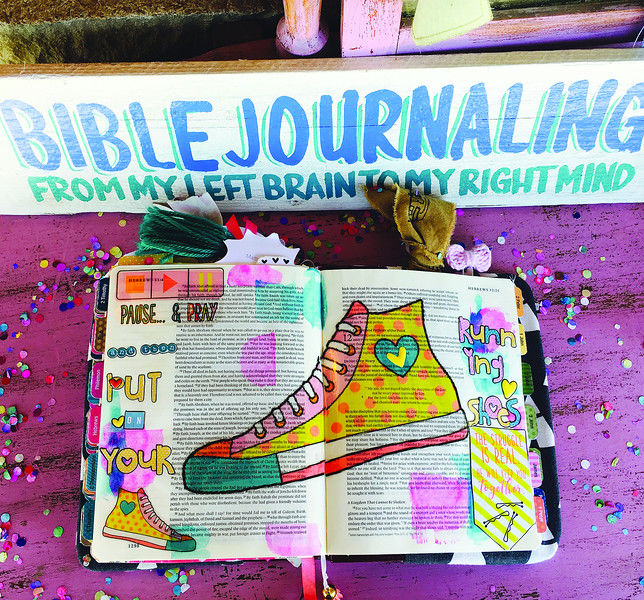 Bible journaling combines faith, art in unexpected ways