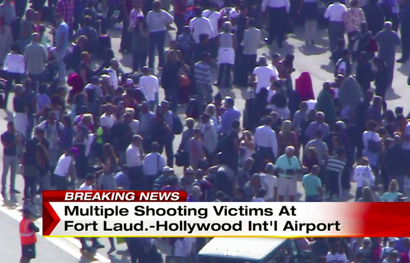 Police: 5 dead, 8 wounded in shooting at Florida airport