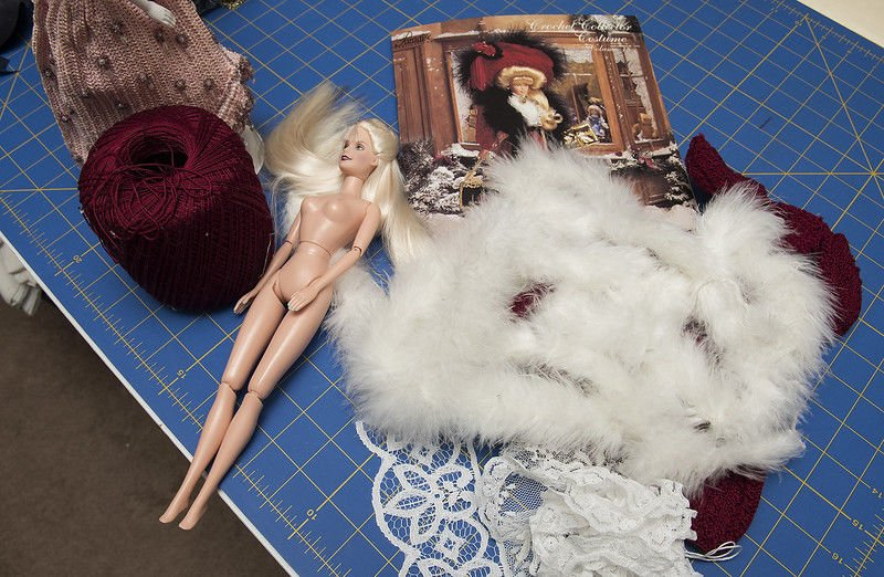 Tyler doll collector creates handcrafted outfits for Barbie dolls