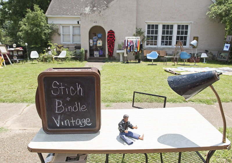 Stick and Bindle Vintage: One-of-a-kind clothing and furniture create unique style for owner, customers