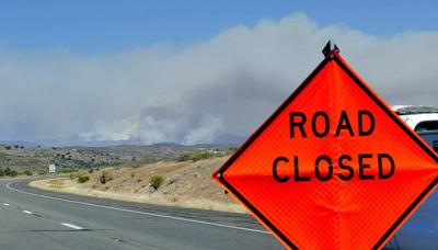 Residents leave homes as wildfires sweep through US West