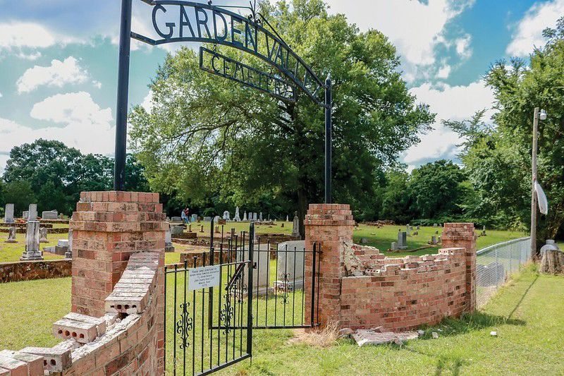 Historic Garden Valley Cemetery targeted by vandals