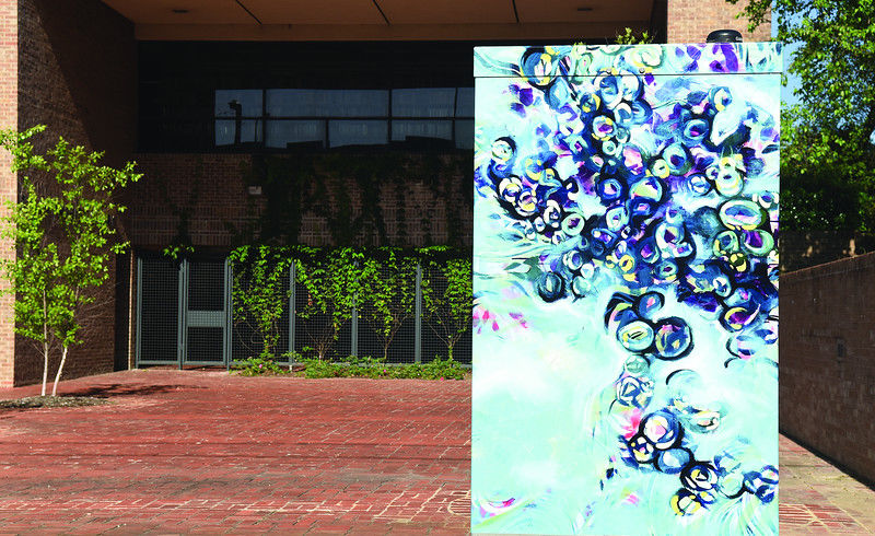 Downtown Tyler utility boxes transformed into works of art