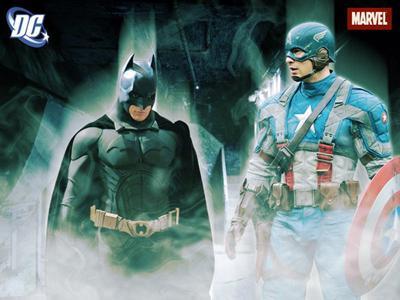 Men dressed as Batman, Capt. America rescue cat