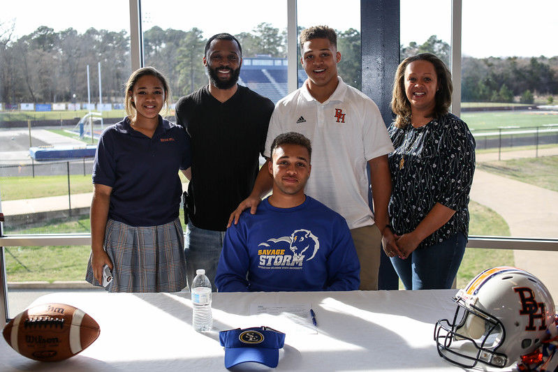 Brook Hill's McGowen inks football letter with SE Oklahoma