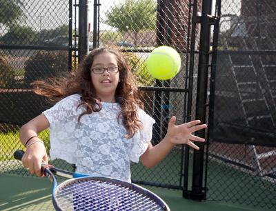 New introduction to tennis program attracts 75 youngsters