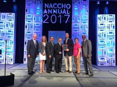Cherokee County Department of Public Health wins national award for expanding access
