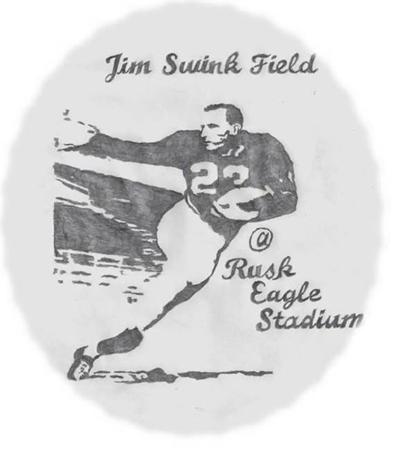 Rusk honoring the great Jim Swink