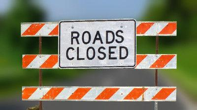 West Erwin closed for utility work