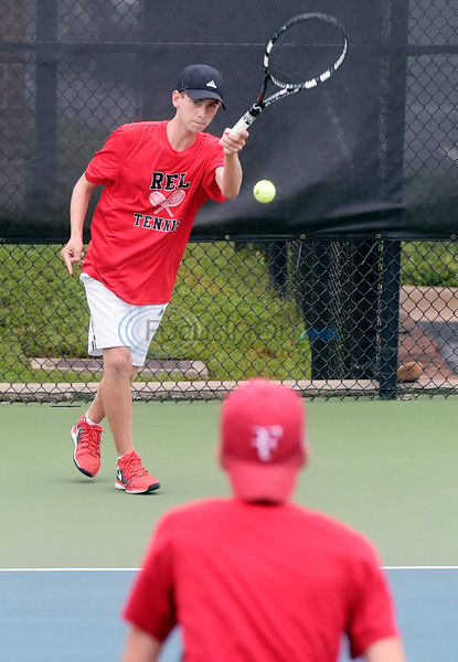 REL tennis takes wins before rain washes event out