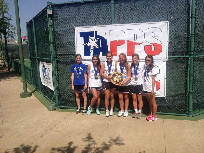 All Saints, Grace, BHill rack up TAPPS tennis titles