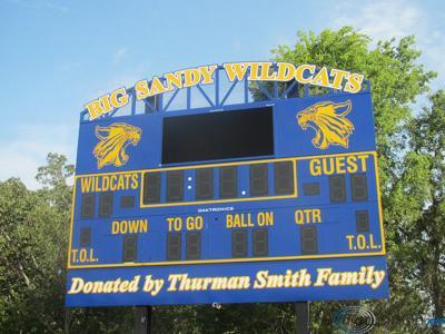Smith family donates new scoreboard to Wildcat Stadium