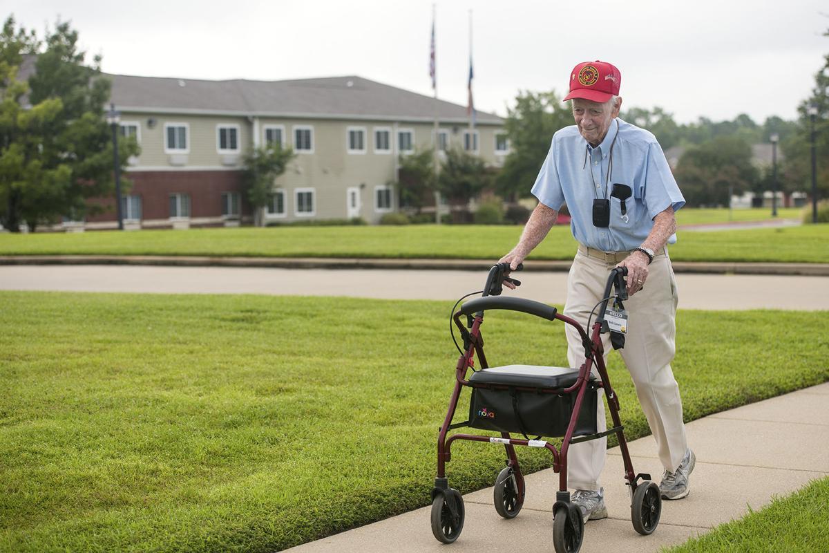 91-Year-Old WWII Marine Veteran Walks Six Miles Each Day