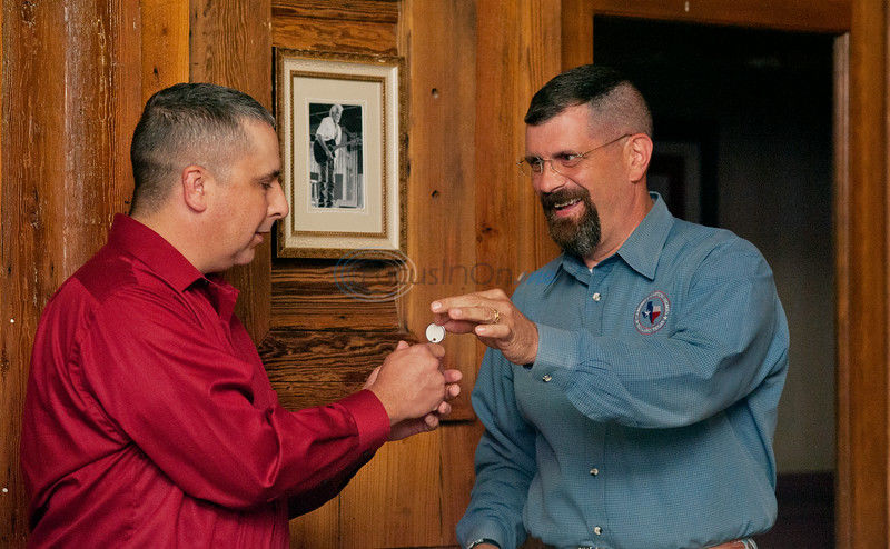 Group honors wounded soldiers, supporters