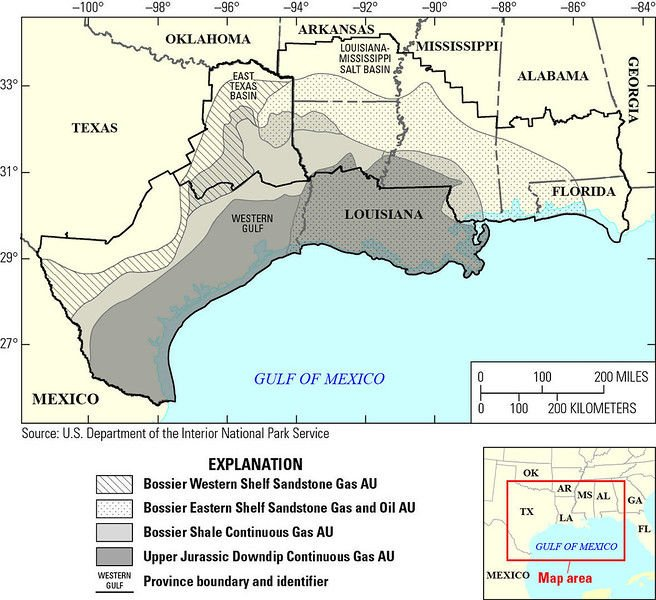 Huge reserves of natural gas under East Texas will fuel the future economy, experts say