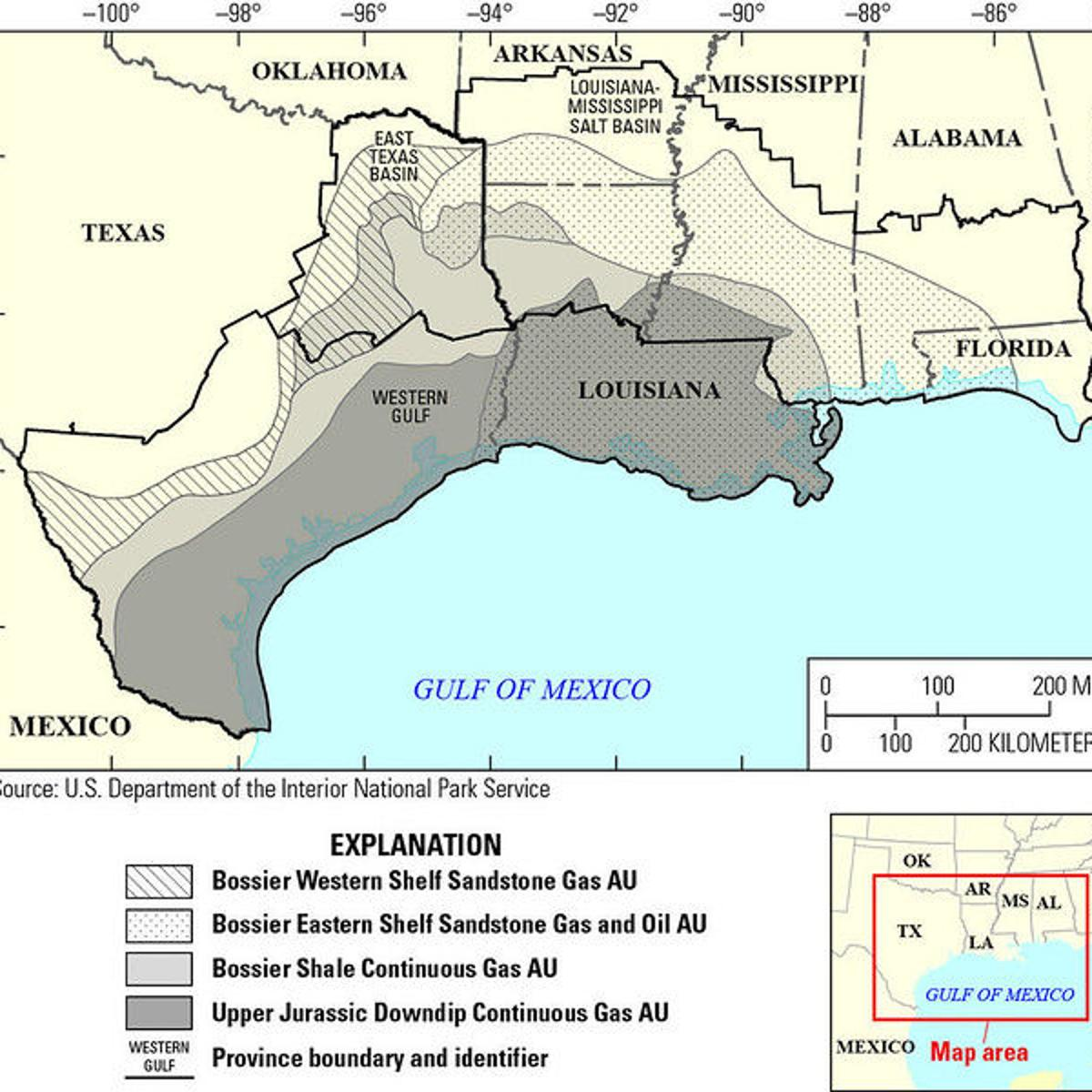Huge reserves of natural gas under East Texas will fuel the