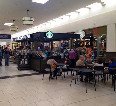 Starbucks opens mall kiosk